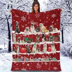 Akita - Christmas Blanket