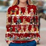 Airedale Terrier - Snow Christmas - Premium Sweatshirt