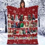 Scottish Terrier - Christmas Blanket