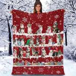 Australian Shepherd - Christmas Blanket