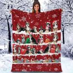 Bernedoodle - Christmas Blanket