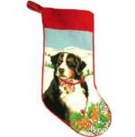 Bernese Mountain Dog Christmas Stocking