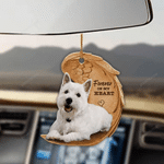 West Highland White Terrier Forever In My Heart Hanging Ornament-2D Effect