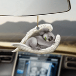 Koala sleeping angel koala lovers dog moms ornament
