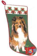 Shetland Sheepdog Christmas Stocking