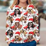 American Cocker Spaniel - Xmas Decor - Premium Sweatshirt