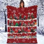 Rottweiler - Christmas Blanket