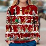 Basenji - Snow Christmas - Premium Sweatshirt
