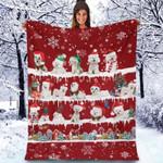 Bichon Frise - Christmas Blanket