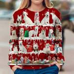 Berger Blanc Suisse - Snow Christmas - Premium Sweatshirt