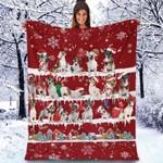 Jack Russell Terrier - Christmas Blanket
