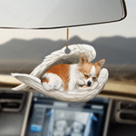 Chihuahua sleeping angel chihuahua lovers dog moms ornament