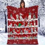 English Setter - Christmas Blanket