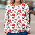 American Bulldog - Xmas Decor - Premium Sweatshirt
