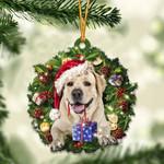 Labrador Retriever Christmas Gift Acrylic Ornament