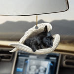 Scottish Terrier Sleeping Angel - Hanging Ornament