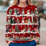 French Bulldog - Snow Christmas - Premium Sweatshirt