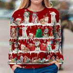 Aidi - Snow Christmas - Premium Sweatshirt