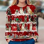 Akita - Snow Christmas - Premium Sweatshirt