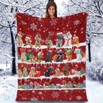 Poodle - Christmas Blanket