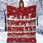 Cat - Christmas Blanket