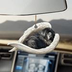 Newfoundland dog sleeping angel Newfoundland dog lovers ornament