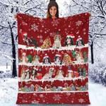 Cavalier King Charles Spaniel - Christmas Blanket