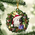 Cockatoos Christmas Gift Acrylic Ornament