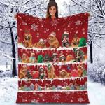 Tibetan Mastiff - Christmas Blanket