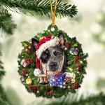 Heeler Christmas Gift Acrylic Ornament