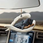 Doberman Pinscher sleeping angel Doberman Pinscher lovers dog moms ornament