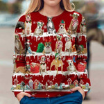 American Staffordshire Terrier - Snow Christmas - Premium Sweatshirt
