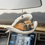 Malinois dog sleeping angel Malinois dog lovers dog moms ornament