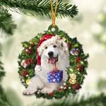 Great Pyrenees Christmas Gift Acrylic Ornament
