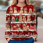Australian Terrier - Snow Christmas - Premium Sweatshirt