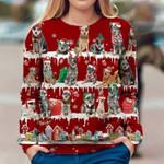 Australian Cattle Dog - Snow Christmas - Premium Sweatshirt