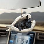 Scottish terrier sleeping angel scottish terrier lovers dog lovers ornament