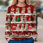 Australian Silky Terrier - Snow Christmas - Premium Sweatshirt