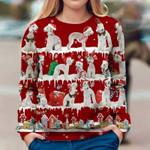 Bedlington Terrier - Snow Christmas - Premium Sweatshirt