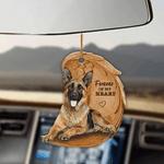 German Shepherd Forever In My Heart Hanging Ornament-2D Effect