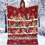 Cockapoo - Christmas Blanket