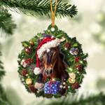 Horse Christmas Gift Acrylic Ornament