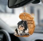 Shih Tzu Forever In My Heart Hanging Ornament-2D Effect