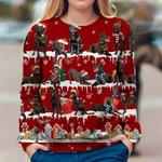 Australian Kelpie - Snow Christmas - Premium Sweatshirt