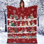 French Bulldog - Christmas Blanket
