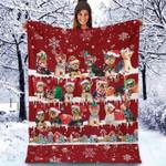Yorkshire Terrier - Christmas Blanket