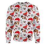 American English Coonhound - Xmas Decor - Premium Sweatshirt