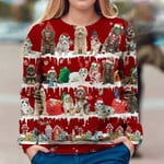 Aussiedoodle - Snow Christmas - Premium Sweatshirt