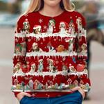 Beagle - Snow Christmas - Premium Sweatshirt