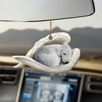 Bedlington Terrier sleeping angel Bedlington Terrier lovers dog moms ornament cus tjl